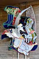 The Mat Maker by Frank Stella (USA)