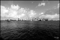Downtown Miami shot from Rusty Pelican