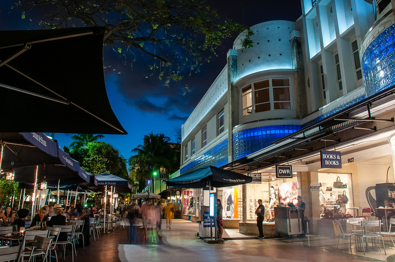 Image result for lincoln road miami night