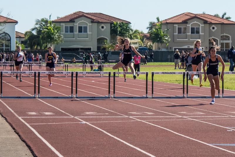 300m hurdles